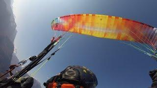 EPIC DAY #02 North Wind in Laveno, paragliding in Santa Elisabetta then