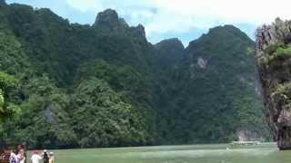 Тайланд . Остров ,, Джеймс Бонд ,,   Thailand. James Bond Island