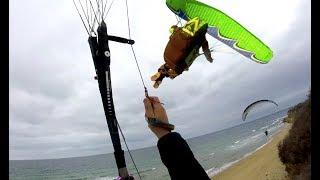 "Paragliding "" Funny Moments "" , One day with Vess & Georg in Nessebar"