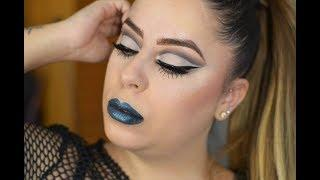 Grey Makeup Look | Rebeca Glez Makeup