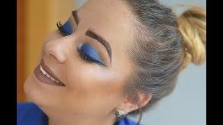 Blue smoky eye | Rebeca Glez Makeup