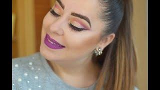 Rainbow Cut Crease | Rebeca Glez Makeup