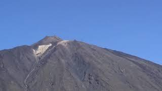 el teide volcano - close up view